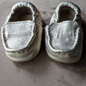 Gold Baby UGG Moccasins Size 0/1